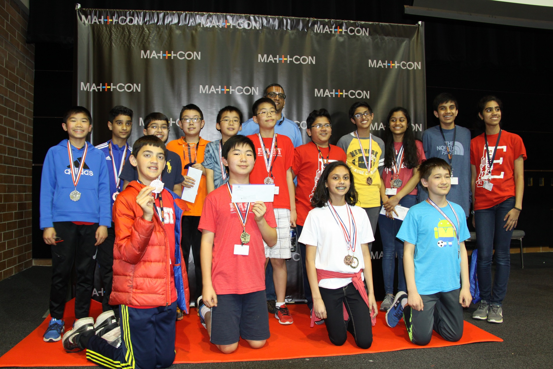 East Students Win Top Honors at MathCON in Chicago