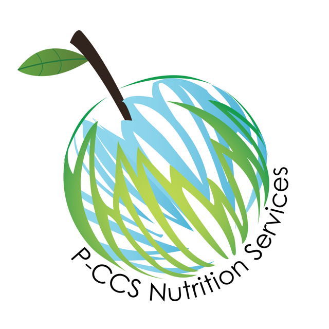 pccs globe logo with apple stem
