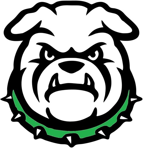 West Bulldog green collar