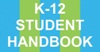 K-12 Student Handbook logo 100x52