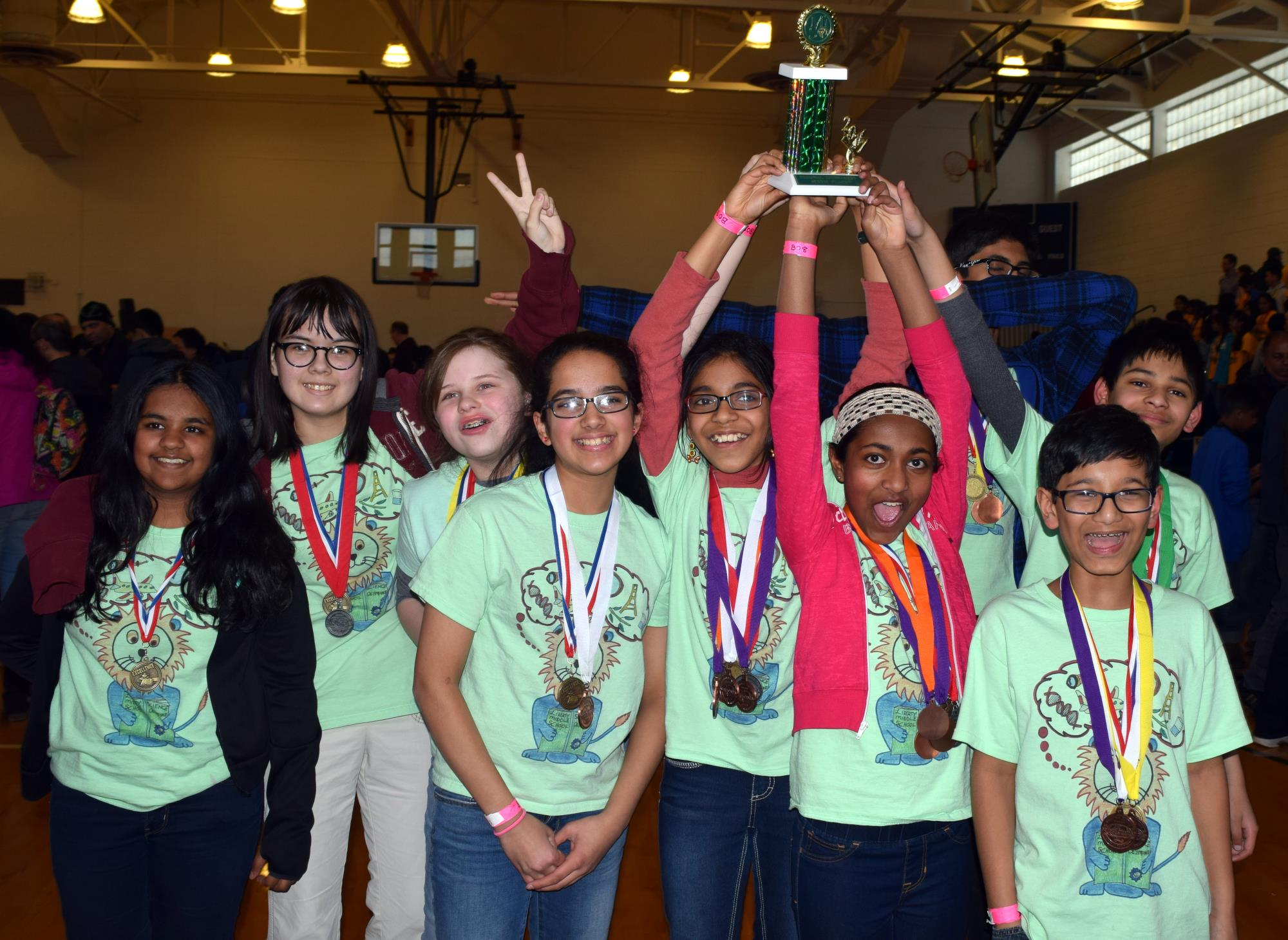 Liberty Science Olympiad Trophy 3-11-17