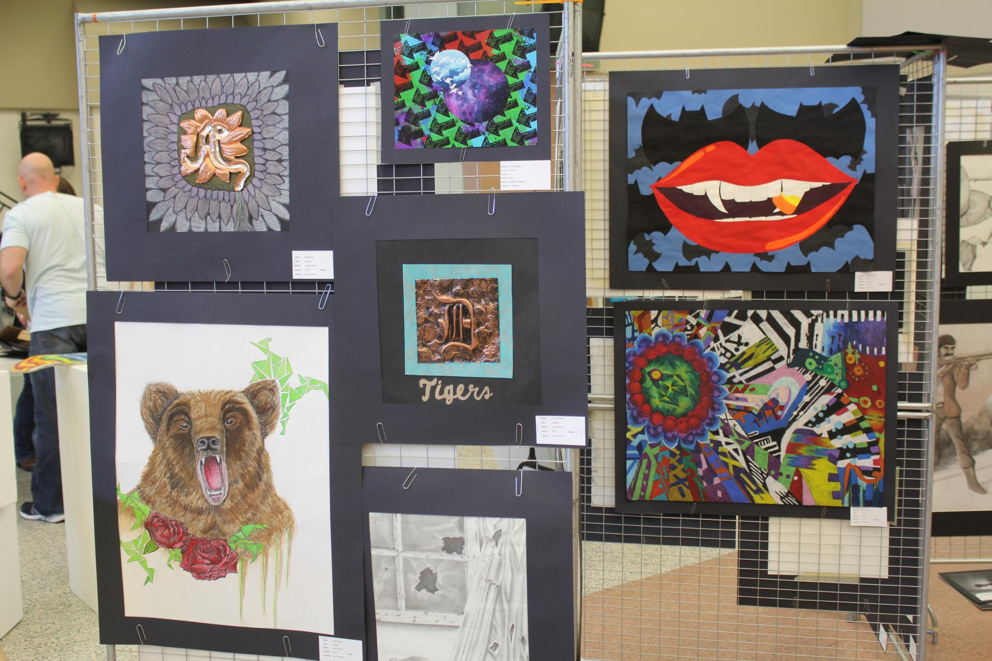 P-CCS Art Show Saturday, May 20 from 11:30 a.m. - 6 p.m. at Plymouth High School