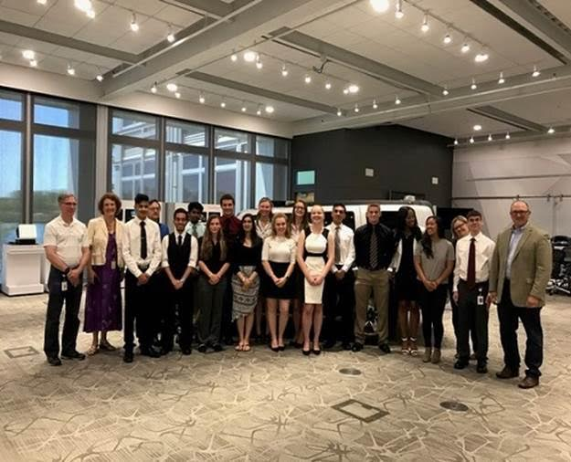 STEM Students Present Capstone Project at Visteon