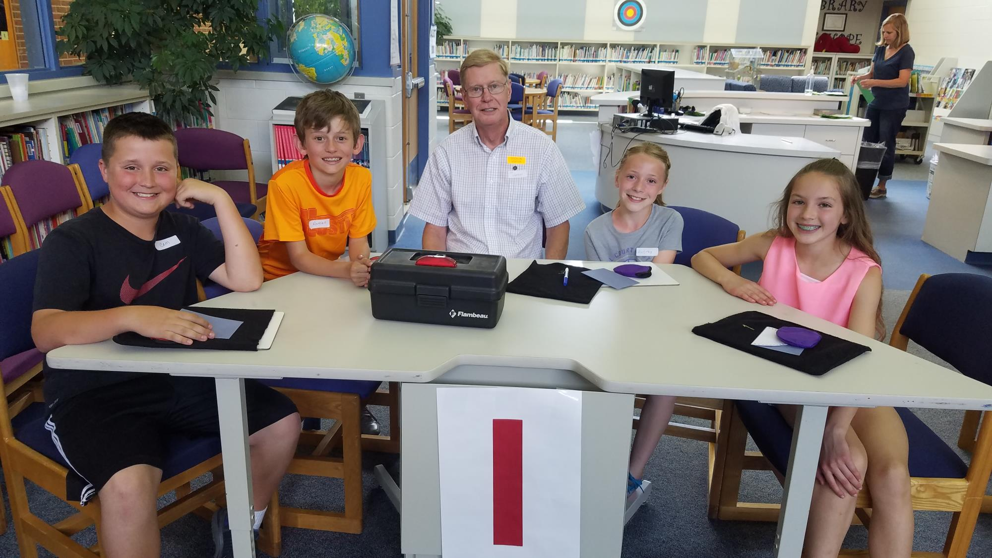 Plymouth-Canton Optimist Club sponsors Math Jeopardy at Dodson