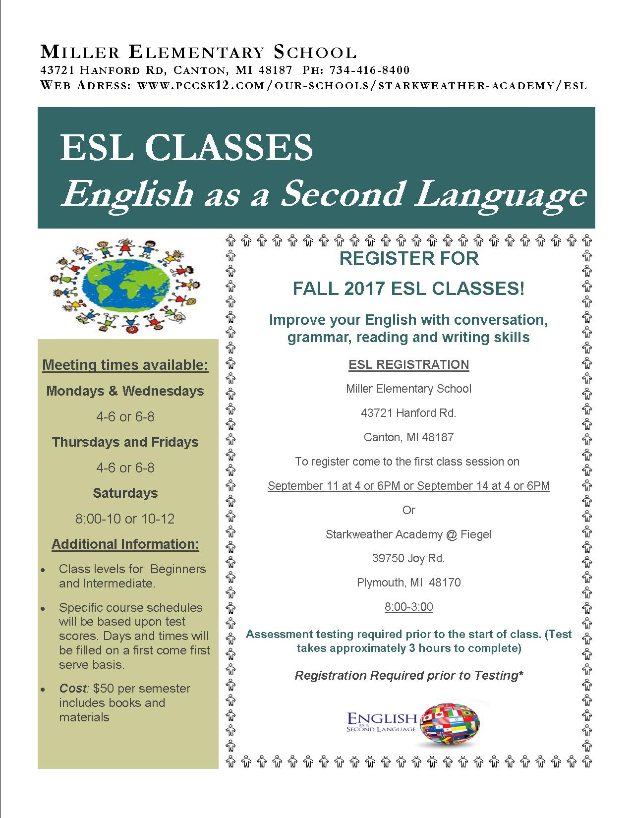 Evening-ESL Fall  2017 (3) 8-29-17