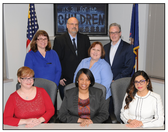 7 members of the 2018 Board of Education