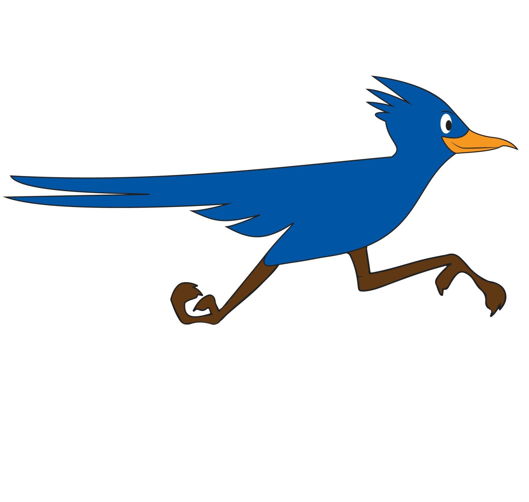 blue roadrunner logo