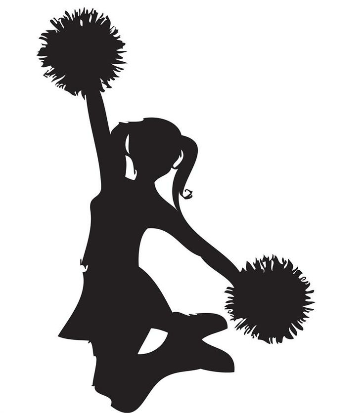 Cheerleading-cheer-megaphone-clipart-black-and-white-free