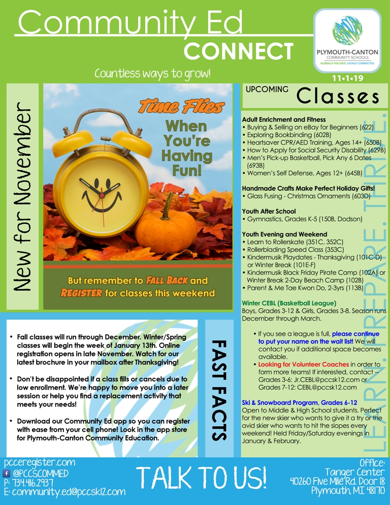 News List Plymouth Canton Community Schools
