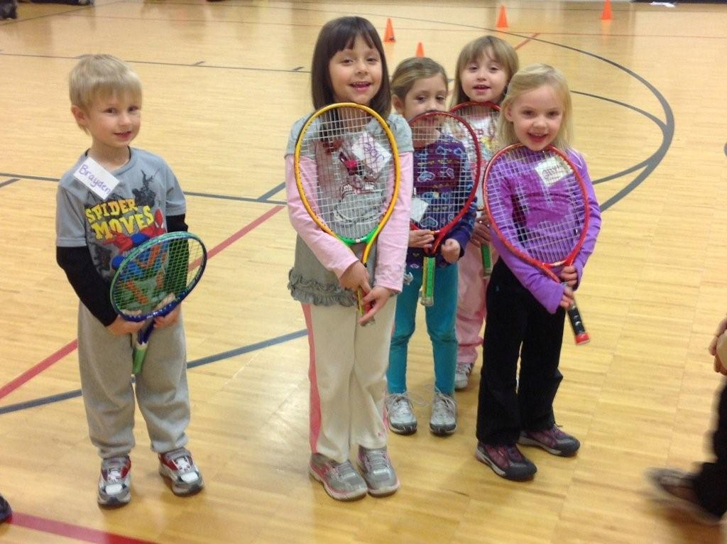 Pre-School Tennis  Group