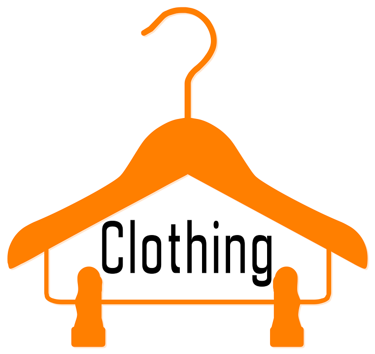 clothing bank hanger