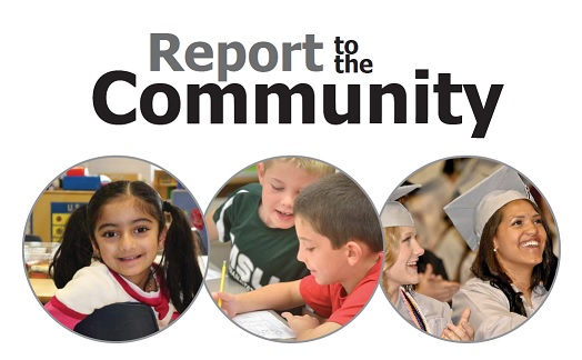 Report to the Community logo