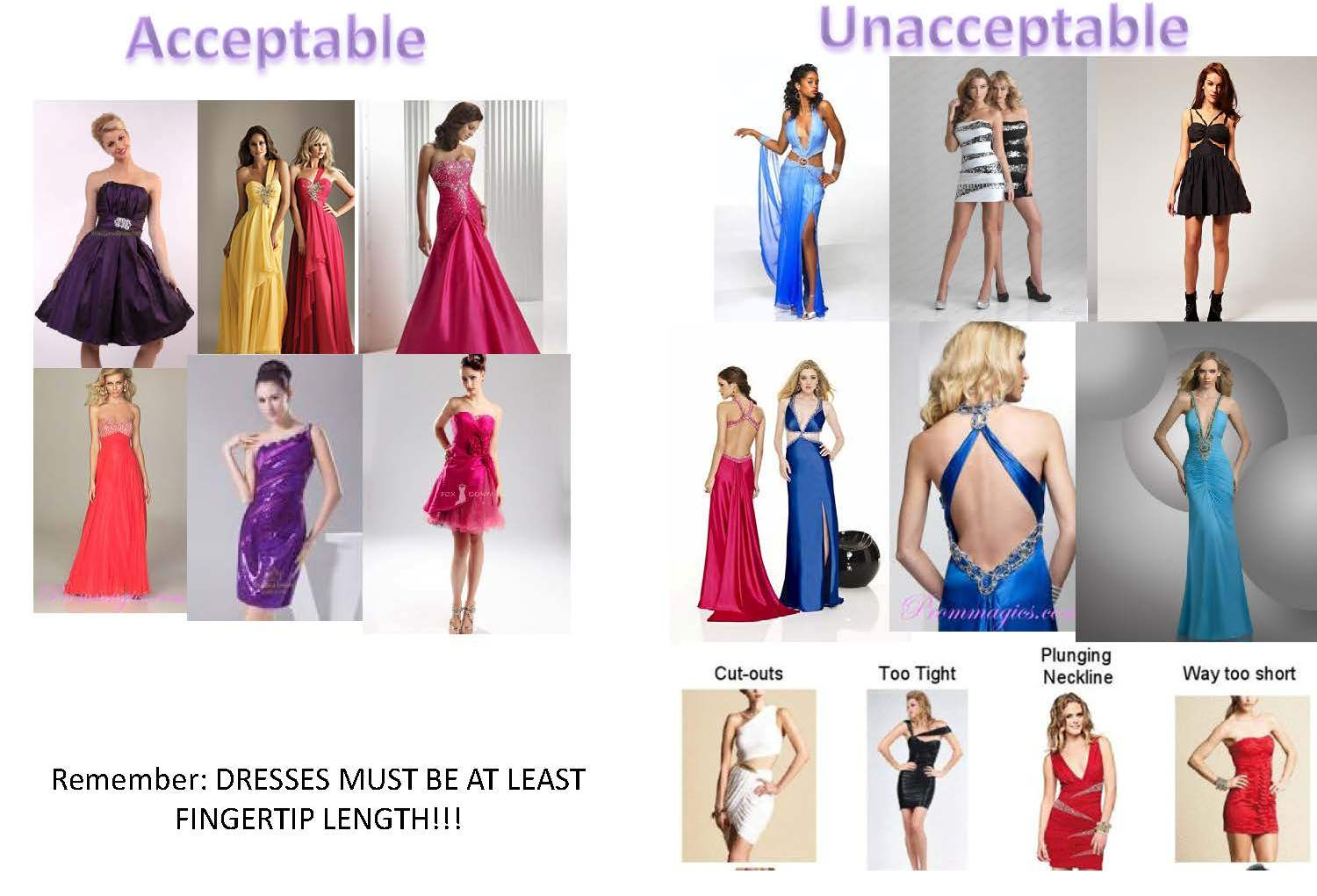 Dance dress guide 2011